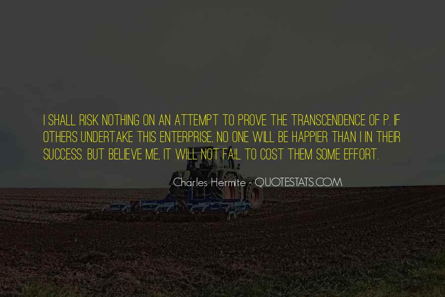 Quotes About Transcendence #258651