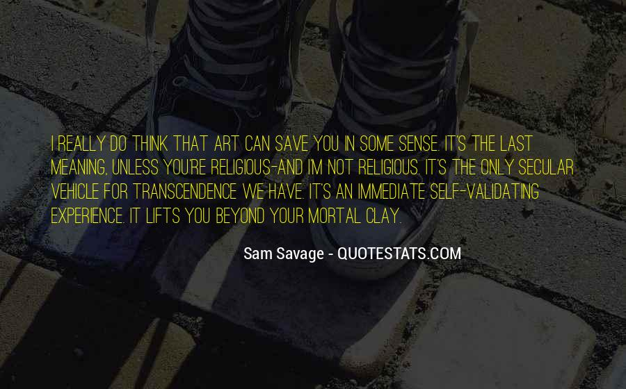 Quotes About Transcendence #428401