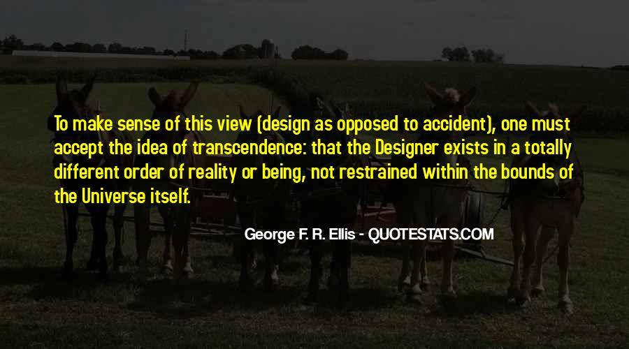 Quotes About Transcendence #429497