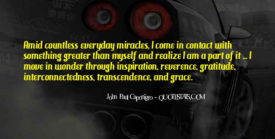 Quotes About Transcendence #455323