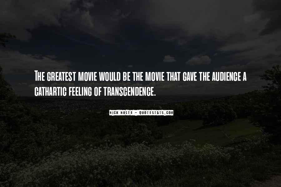 Quotes About Transcendence #481642