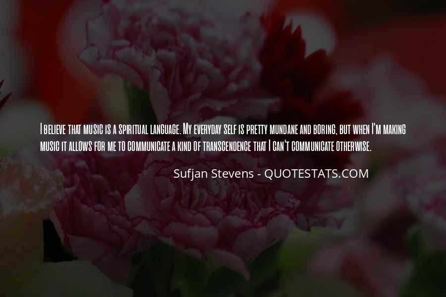 Quotes About Transcendence #509050