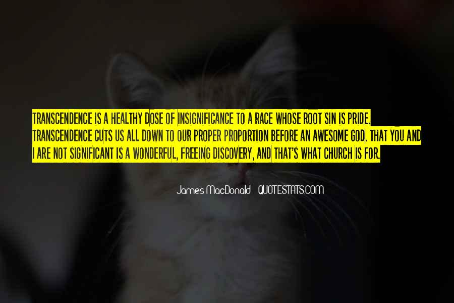 Quotes About Transcendence #519265