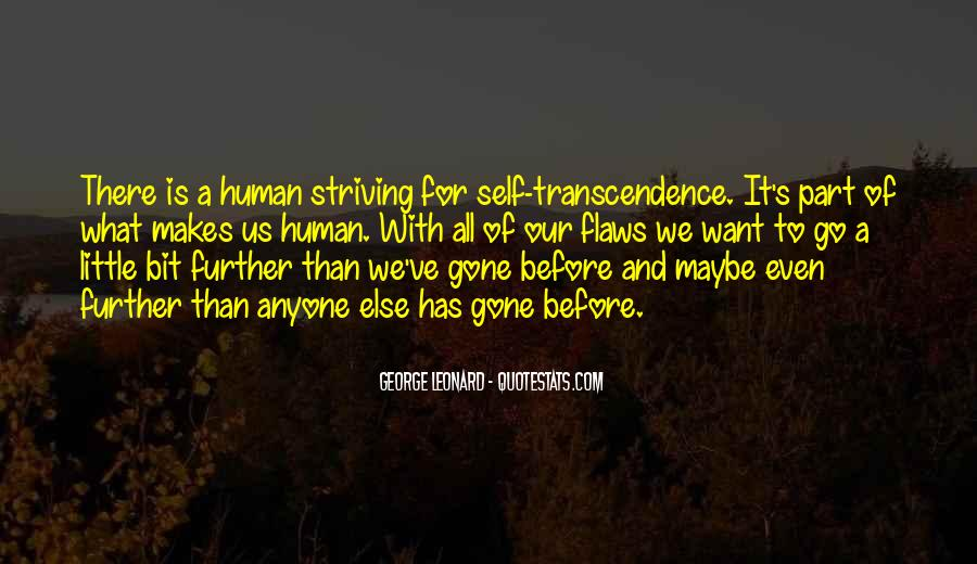 Quotes About Transcendence #536519