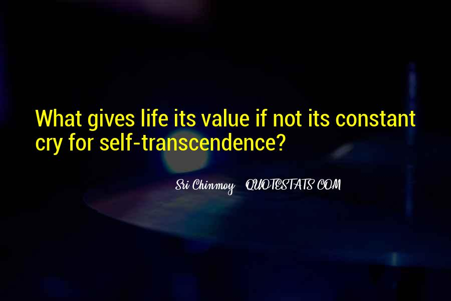 Quotes About Transcendence #549983