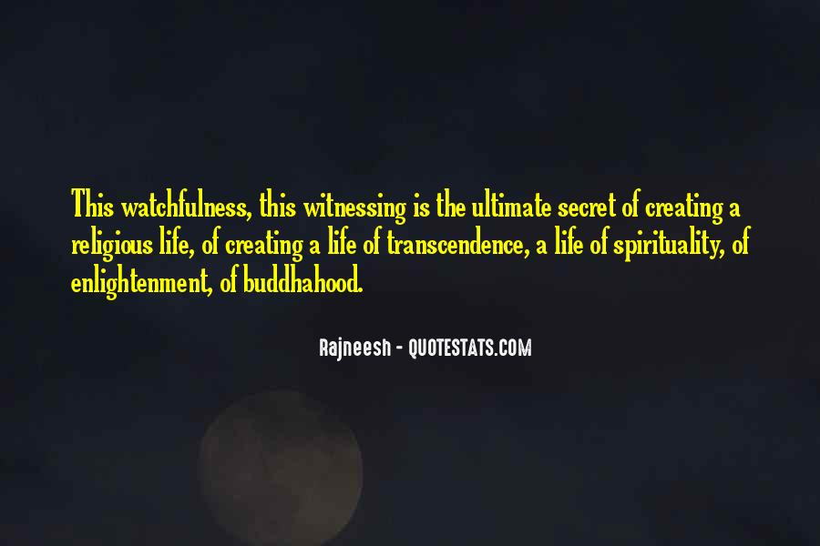 Quotes About Transcendence #563509