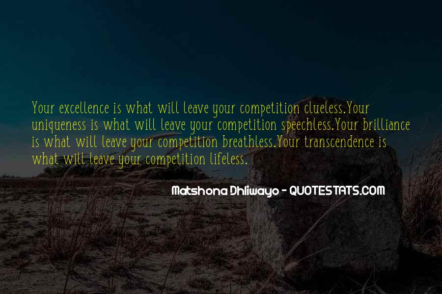 Quotes About Transcendence #61853