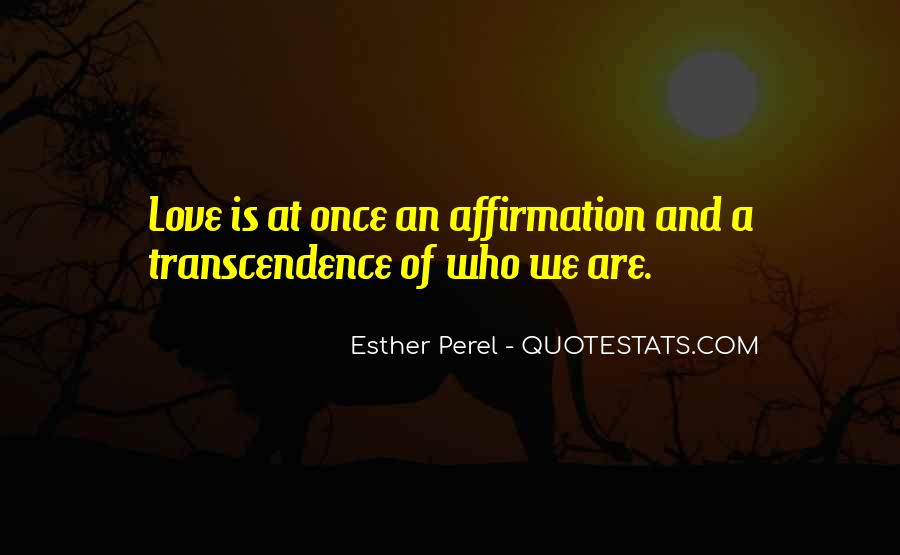 Quotes About Transcendence #64921
