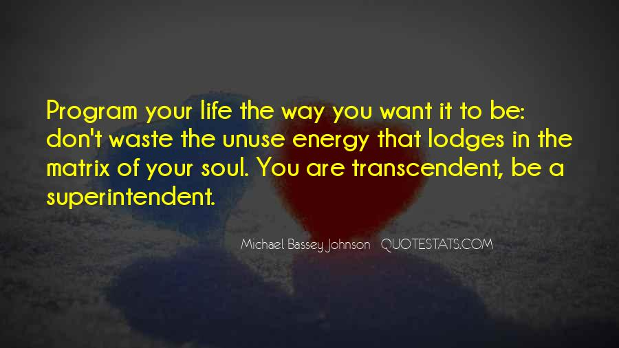 Quotes About Transcendence #90453