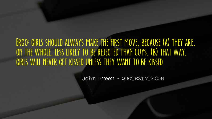 Quotes About A First Kiss With Someone #134465