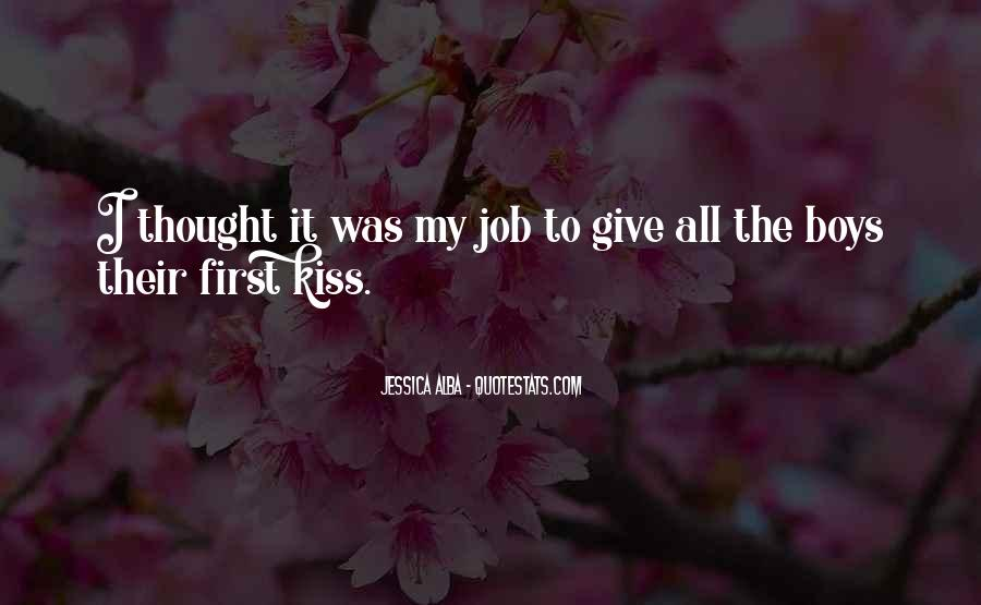 Quotes About A First Kiss With Someone #38090