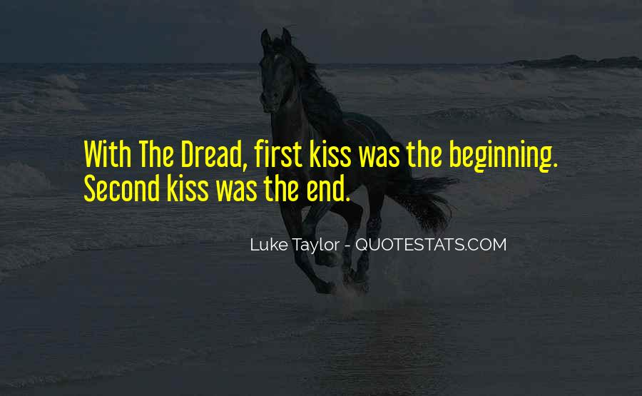 Quotes About A First Kiss With Someone #55091
