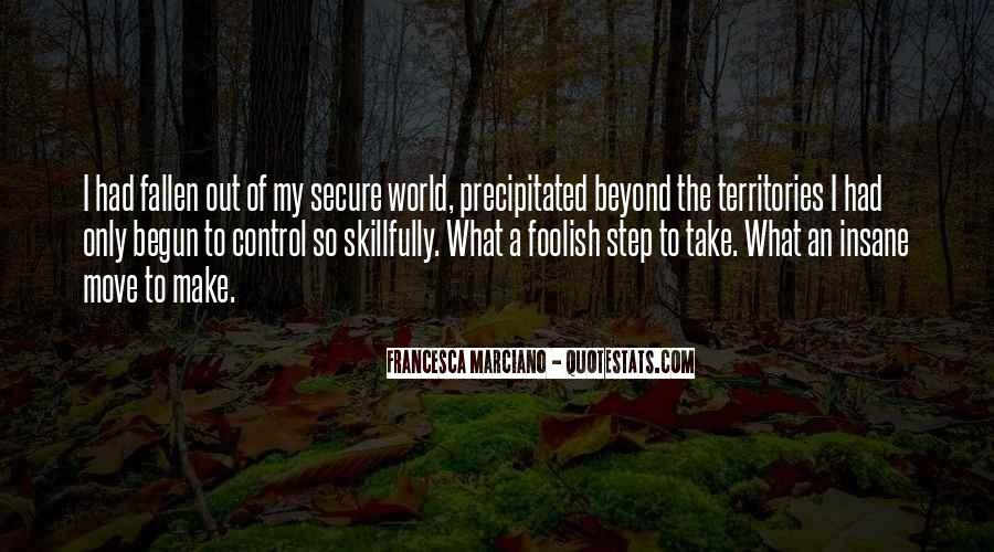 Quotes About Beyond My Control #484561