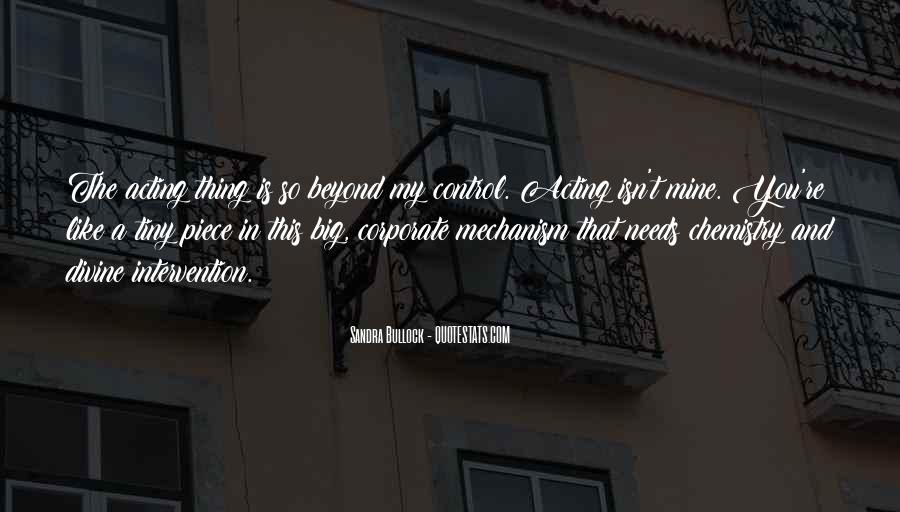 Quotes About Beyond My Control #670799