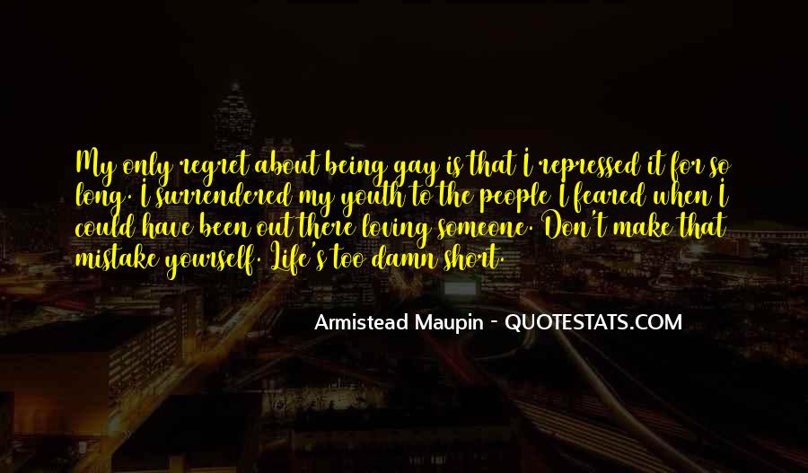 Short But Loving Quotes #1347410