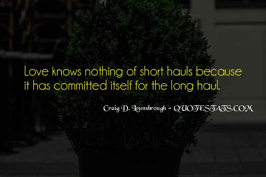 Short But Loving Quotes #255978