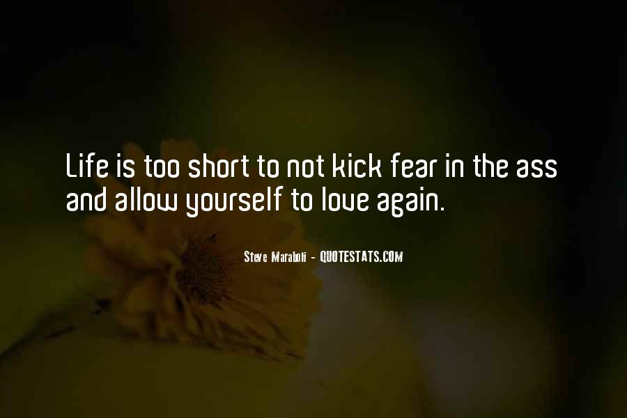 Short But Loving Quotes #299613