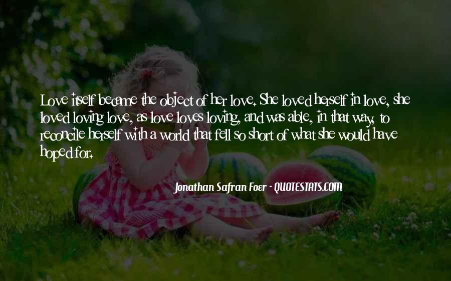Short But Loving Quotes #868987