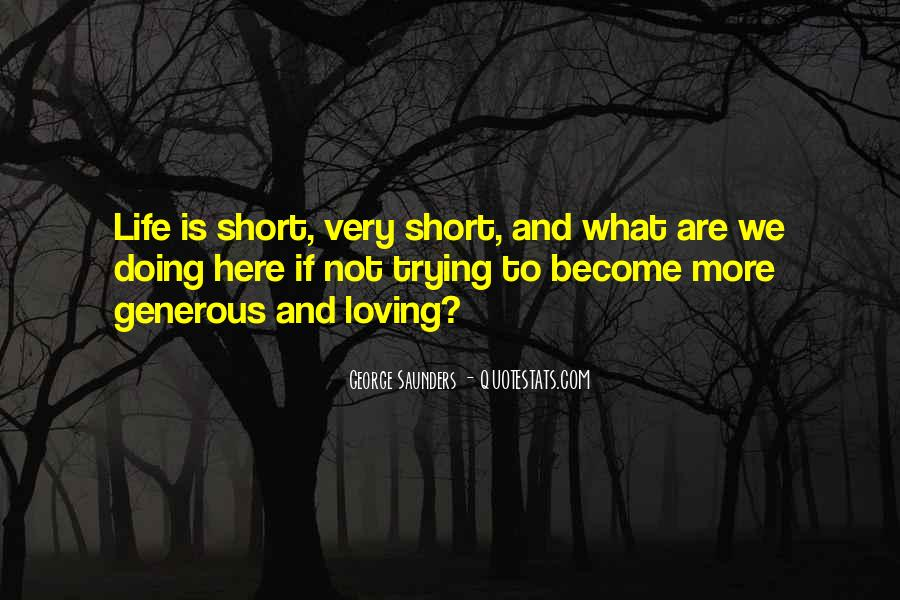 Short But Loving Quotes #994608
