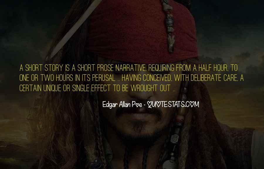 Short But Unique Quotes #485575
