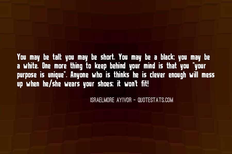 Short But Unique Quotes #798422