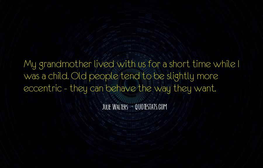 Short Eccentric Quotes #249972