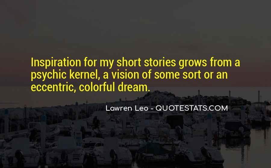 Short Eccentric Quotes #551504