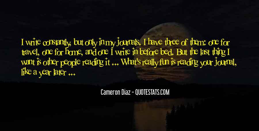 Quotes About Cameron Diaz #1093639