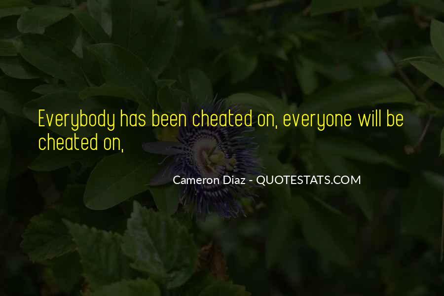 Quotes About Cameron Diaz #117355