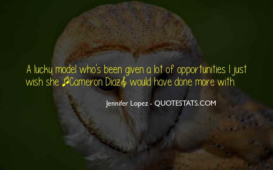 Quotes About Cameron Diaz #362831