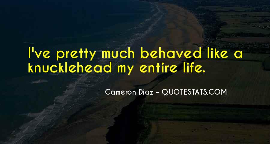 Quotes About Cameron Diaz #419307