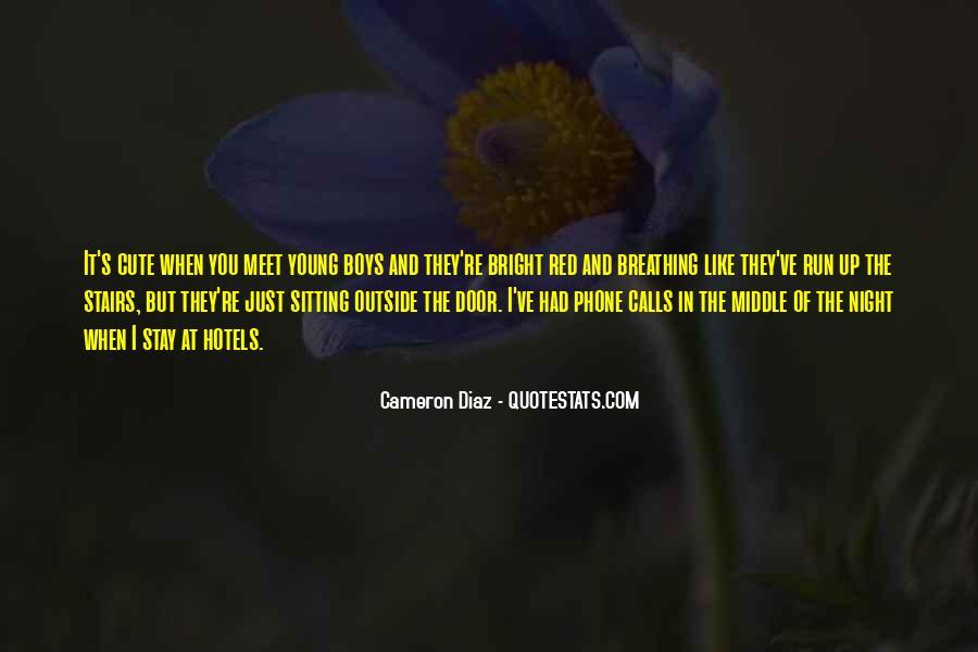 Quotes About Cameron Diaz #459069