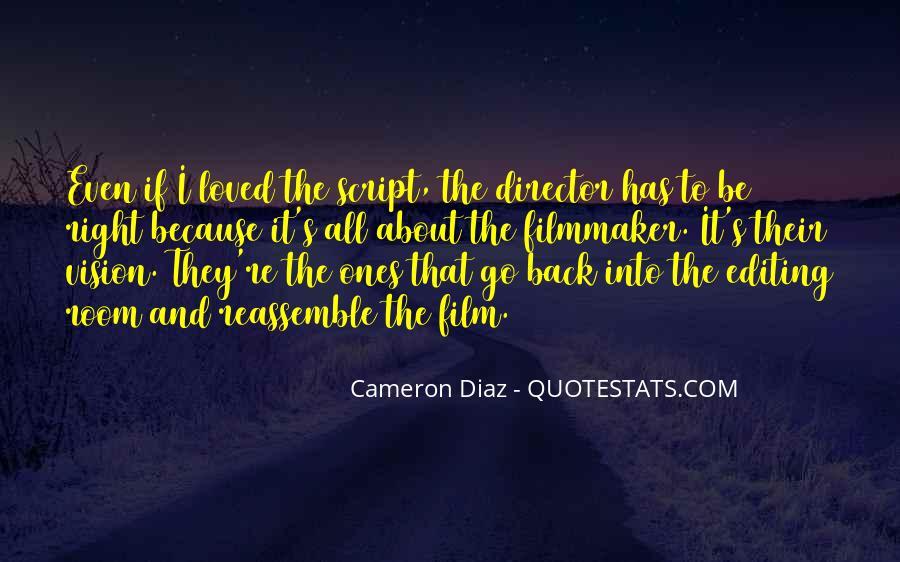Quotes About Cameron Diaz #561427