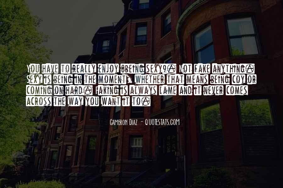 Quotes About Cameron Diaz #591150