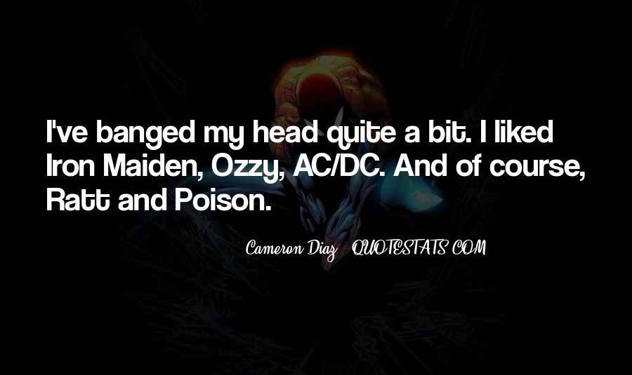 Quotes About Cameron Diaz #689656