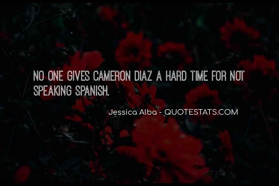 Quotes About Cameron Diaz #690484