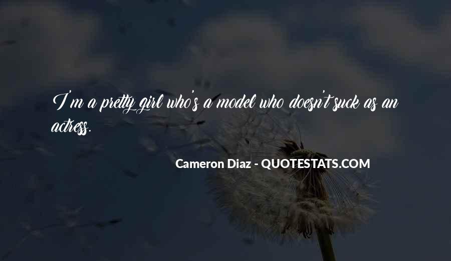 Quotes About Cameron Diaz #829194