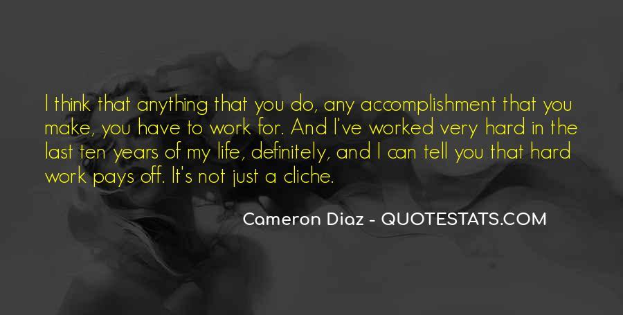Quotes About Cameron Diaz #966725