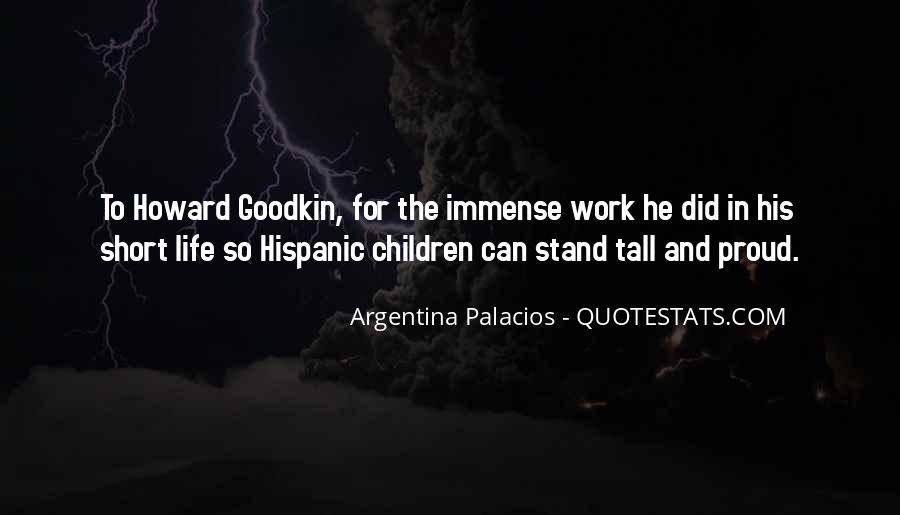 Short Hispanic Quotes #1721282