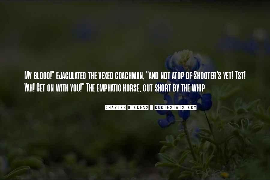 Short Horse Quotes #982090