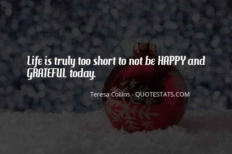 Top 42 Short Life Happiness Quotes: Famous Quotes & Sayings ...