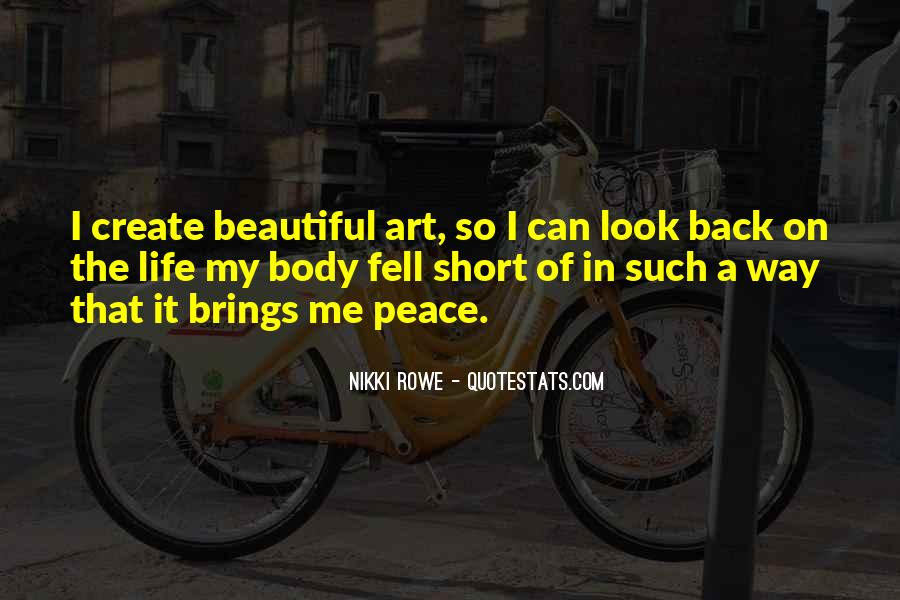 Short Life Wise Quotes #1026301