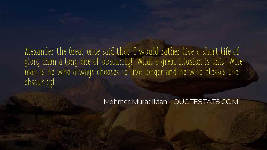 Short Life Wise Quotes #979051