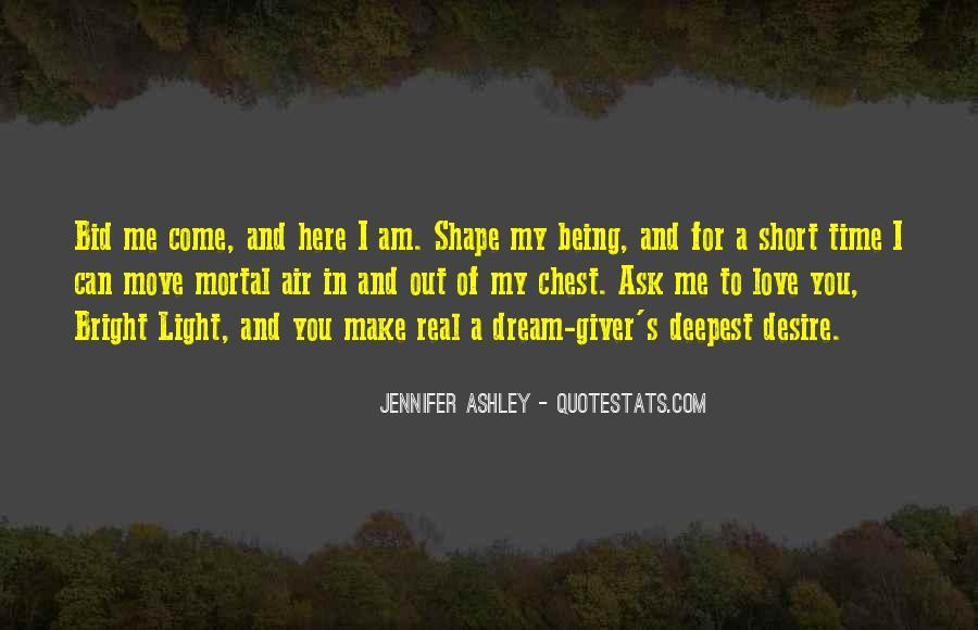 Short Love Dream Quotes #1178045