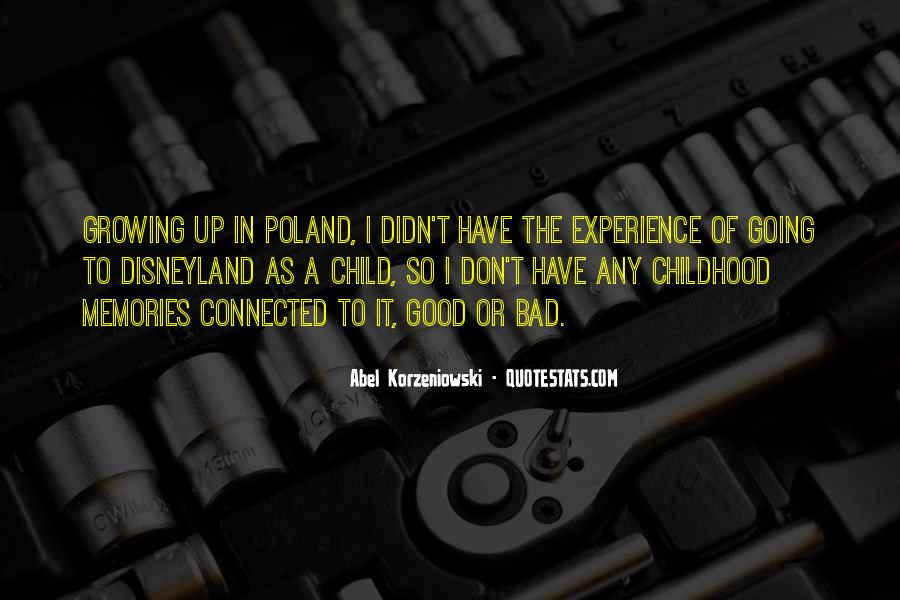 Quotes About Bad Childhood Memories #361442