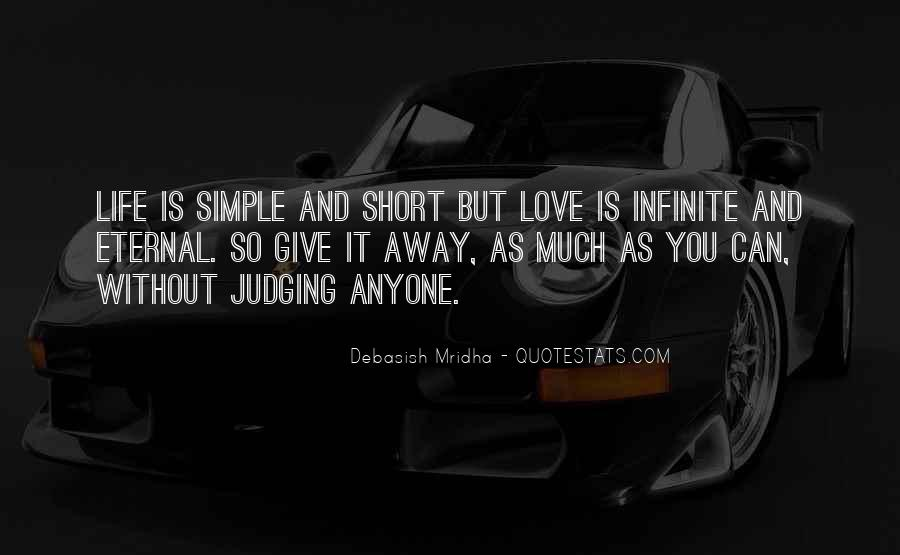 Short Simple I Love You Quotes #1400786