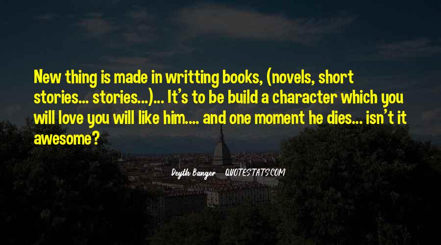 Short Stories Based On Quotes #1149468
