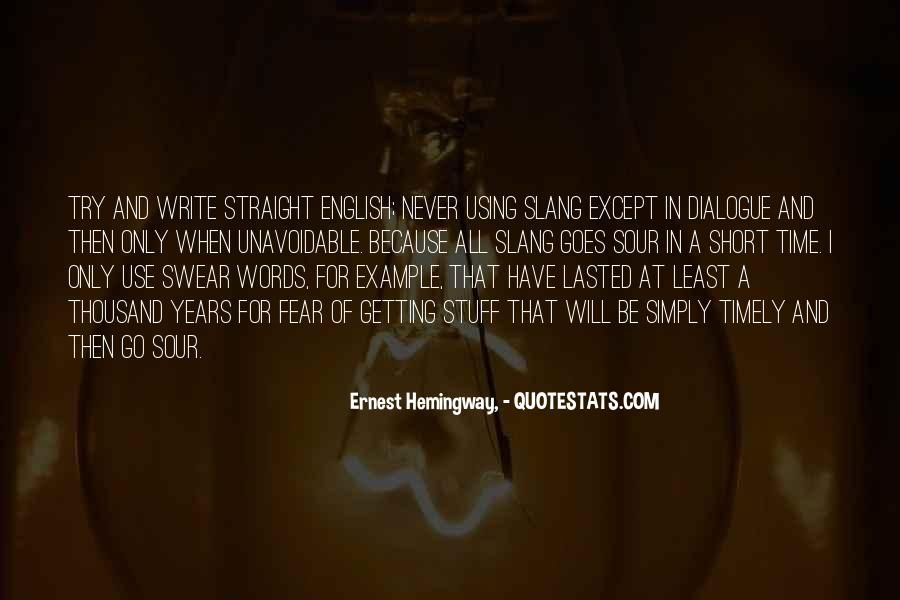 Short Words Quotes #1106041