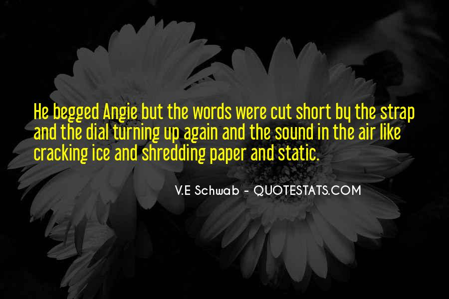 Short Words Quotes #176472