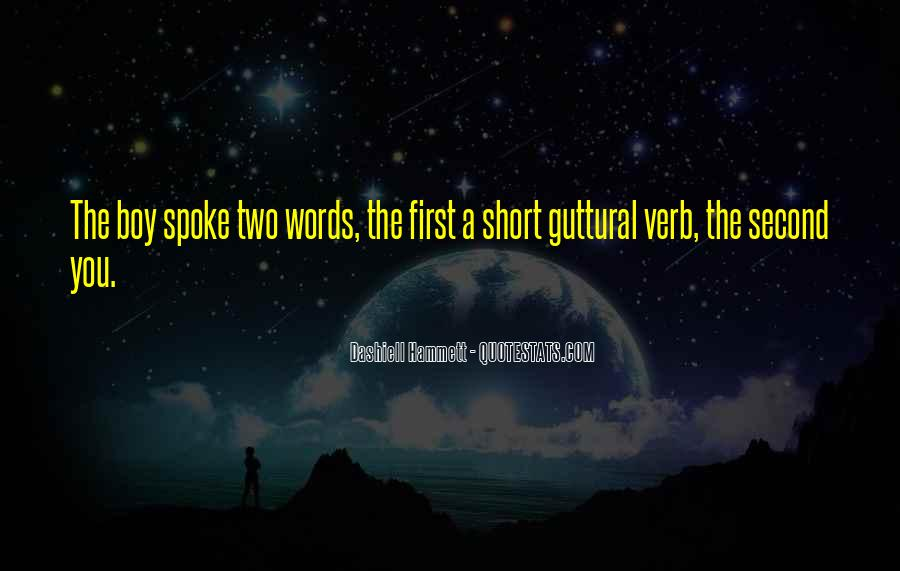 Short Words Quotes #216572